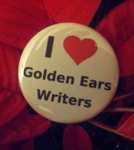 Golden Ears Writers Button