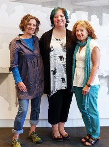 Lynn Easton, KT Wagner and Annette LeBox (TWS 2015)